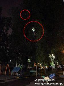 Ночное спасение дрона